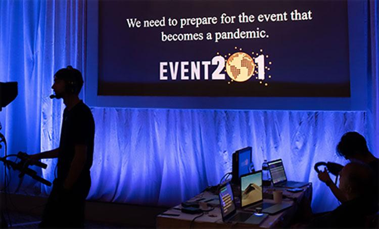 Event201 exercice de pandémie prévu